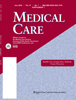 Cover of Medical Care, Volume 47, Number 7, Supplement 1